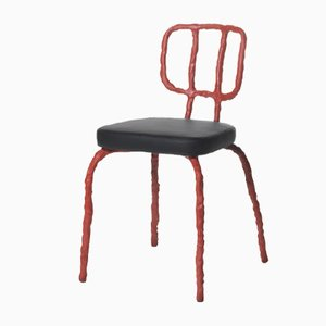 Plain Clay Dining Chair by Maarten Baas
