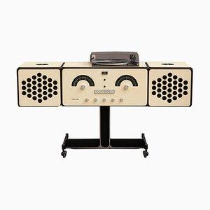 Modell RR126 Radio von Achille & Pier Giacomo Castiglioni für Brionvega, 1960er