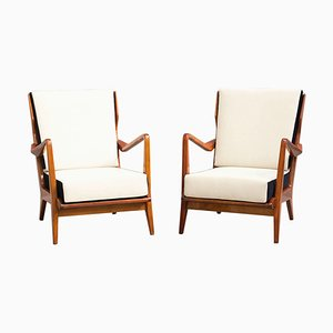 Model 516 Lounge Chairs by Gio Ponti for Cassina, 1950s, Set of 2