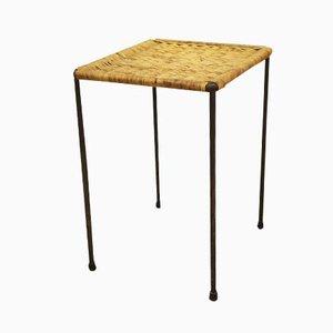 Table d'Appoint en Rotin par Carl Auböck