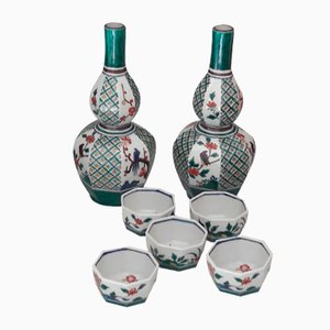 Vintage Japanese Sake Set