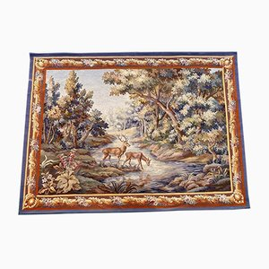 Antique Fine Aubusson Tapestry, 1920s