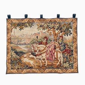 Vintage French Jaquar Tapestry, 1960s