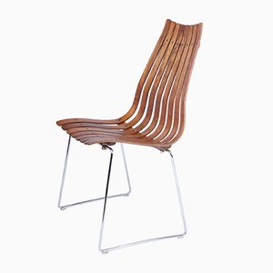 Mid-Century Rosewood Dining Chairs by Hans Brattrud for Hove Mobler, 1960s, Set of 4