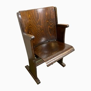 Vintage Cinema Chair from Ton, 1950s