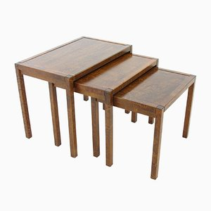 Finnish Coffee Tables from Asko, 1970s, Set of 3