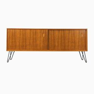 Walnuss Furnier Sideboard von Georg Satink für WK Möbel, 1950er