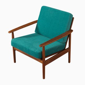 Walnut Armchair, 1960s