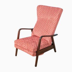 Sessel aus Massivem Holz, 1960er