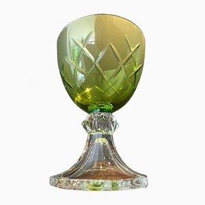 Mid-Century Modell Yale Kristallgläser von Val Saint Lambert, 10er Set