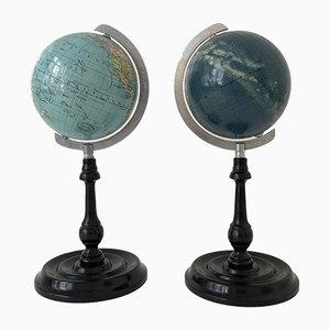 Set Globe Terrestre et Céleste de Columbus, 1950s