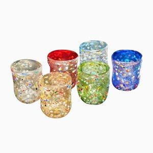 Bicchieri di Vetrati, anni '90, set di 6
