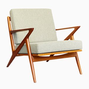 Z-Chair by Poul Jensen for Haslev, 1960s