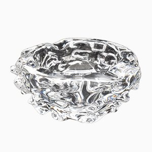 Art Deco Crystal Ashtray from Charles Schneider
