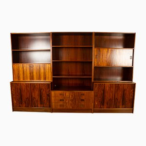 Vintage Danish Rosewood Modular Bookcase from Niels J. Thorsø, 1960s