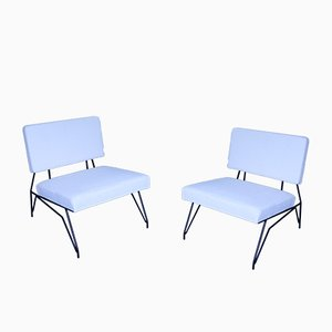 Mid-Century Cerruti Lounge Chairs from Lissone, Set of 2