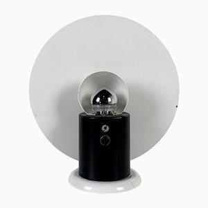 Runde Vintage Tischlampe von Michele De Lucchi für Bieffeplast, 1980er