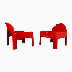 Model 4794 Armchairs by Gae Aulenti for Kartell, 1970s, Set of 2