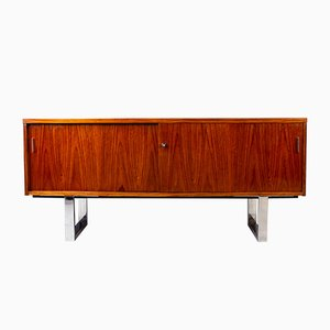 Rosewood and Chrome Sideboard by Trevor Chinn for Gordon Russell, 1970s
