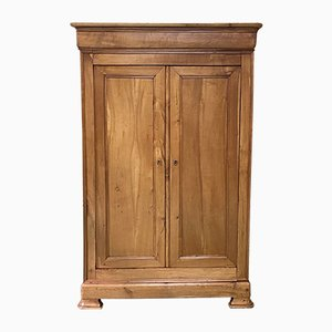 19th Century Louis Philippe Cherrywood Armoire