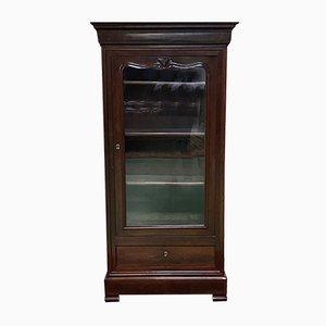 19th Century Louis Philippe Mahogany Bookcase