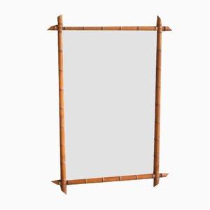 Antique Bamboo Mirror