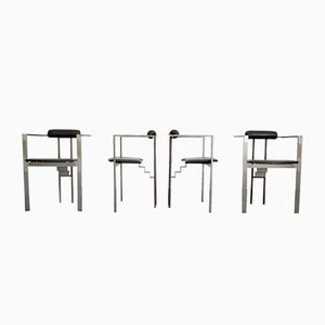 Vintage Table & Chairs by Friedrich Förster, 1980s, Set of 5