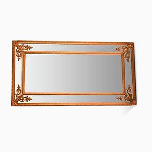 Französischer Spiegel mit Angeschrägtem Rahmen, 1920er