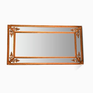 French Gilt Beveled Mirror, 1920s