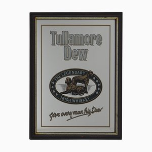 Bar Mirror with Tullamore Dew Sign