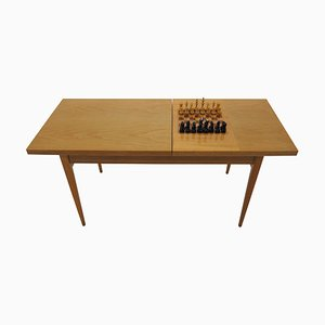 Mid-Century Czech Chess Table