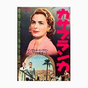 Casablanca Poster, Re-Release, 1962