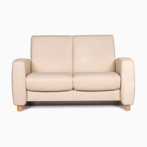 Leather 2-Seater Cream Sofa from Stressless