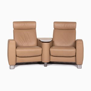 Beige 2-Seater Arion Sofa from Stressless