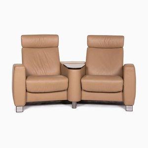 Beiges 2-Sitzer Arion Sofa von Stressless