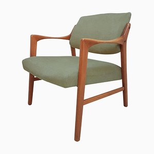 Swedish Solid Teak Chair by Inge Andersson brothers, 1960s