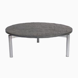 Coffee Table with Floating Slate Table Top