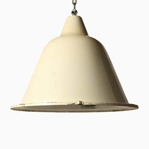 Large Gray Ceiling Lamp
