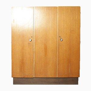 Art Deco Kleiderschrank mit 3 Türen
