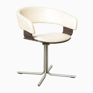 White Mollie Side Chair by John Coleman for Allermuir, England, 1990s