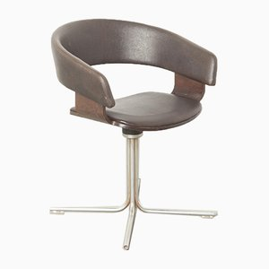 Brown Mollie Side Chair by John Coleman for Allermuir, England, 1990s