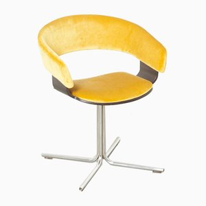 Yellow Mollie Side Chair by John Coleman for Allermuir, England, 1990s