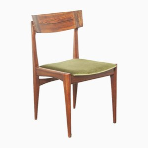 Green Dining Chair by Louis van Teeffelen for AWA Meubelfabriek, 1960s