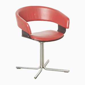Red Mollie Side Chair by John Coleman for Allermuir, England, 1990s