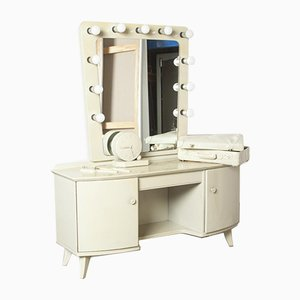 Dressing Table with Illuminated Mirror