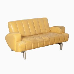 Yellow Wizard Sofa by Hugo de Ruiter for Leolux, 1990s