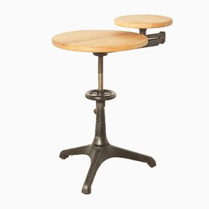 Vintage Side Table by Carl Zeiss