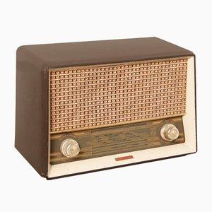 Radio de tubo B3G97U de baquelita de Philips, años 50