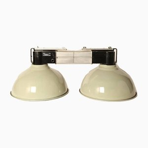 Vintage Green Double Lamp from Philips