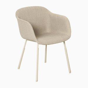 Contemporary Gray Fiber Side Chair by Iskos-Berlin for Muuto, 2015